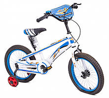 Велосипед детский 16 дюймов 16-TZ-001 ЦВЕТ Черно-красный!!!