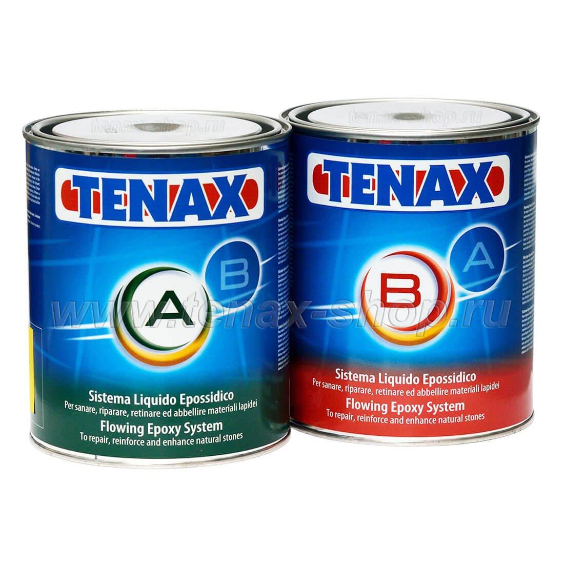 Прозрачный эпоксидный клей EPOXY GEL (A+B) (1,0+0,5л) TENAX