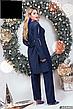 Костюм женский нарядный новогодний размеры: 50-60, фото 3