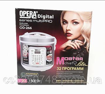 Мультиварка Opera OD-266 на 32 програми 6 л 1500 Вт, фото 2