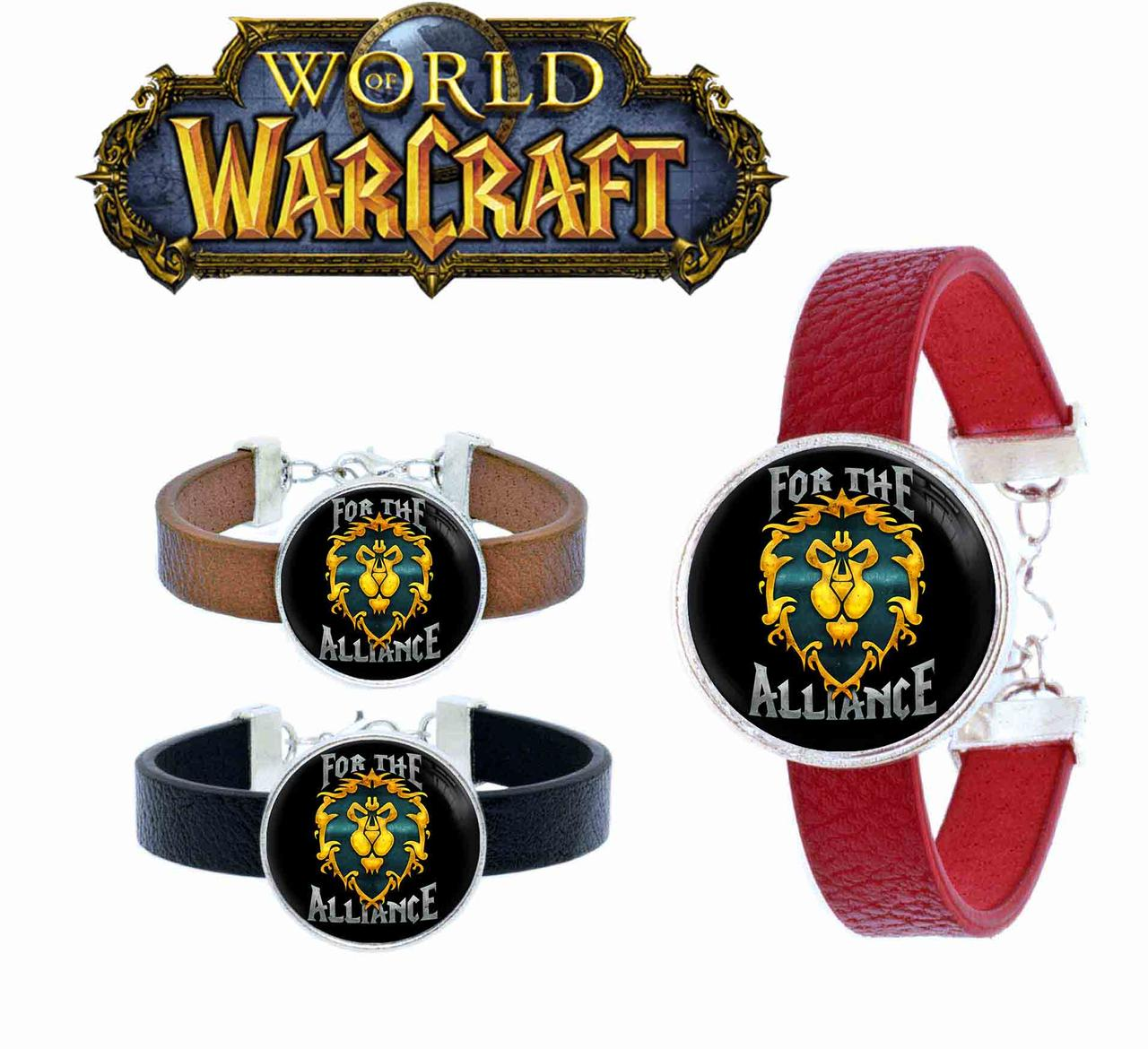 Браслет for the alliance Варкрафт / World of Warcraft