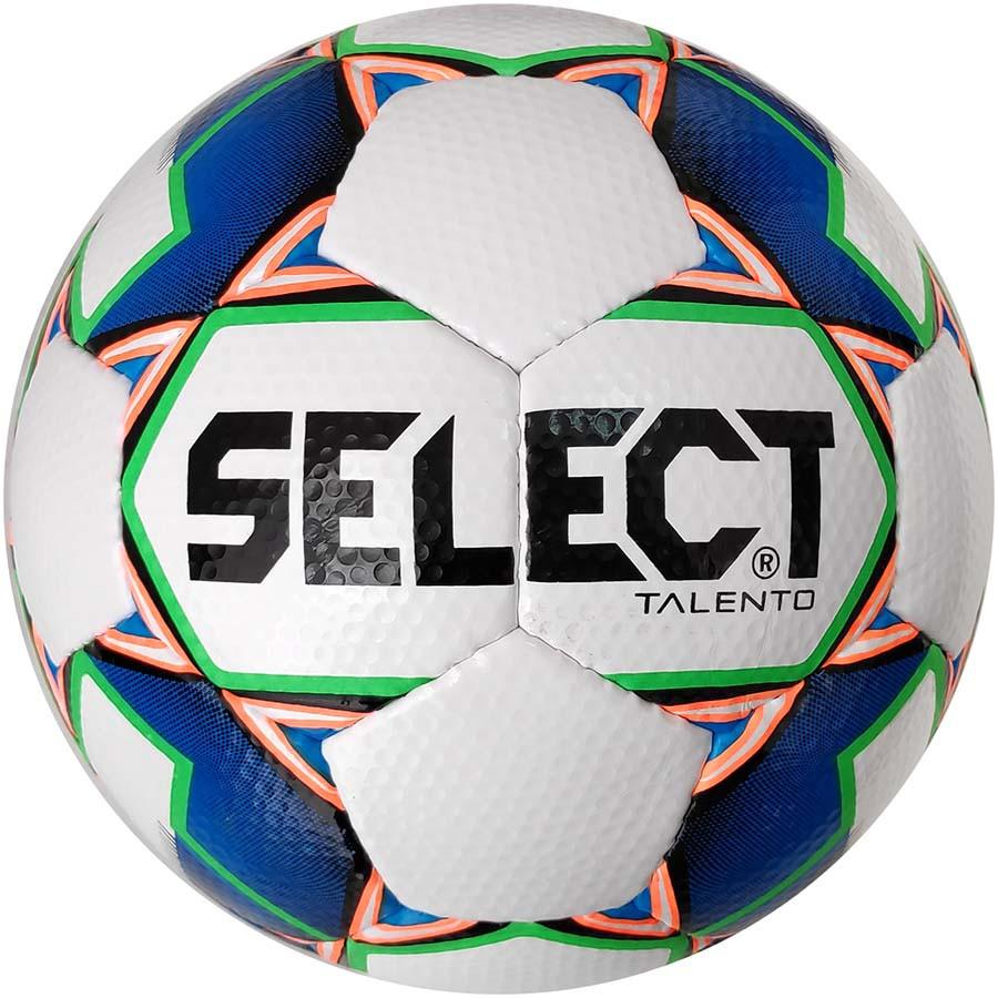 Мяч футбольный SELECT Talento (305) бел/син, размер 4