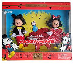 Набор коллекционная кукла Барби Келли и Томми Микки Маус и Минни Маус Tommy and Kelly Mickey & Minnie Mattel