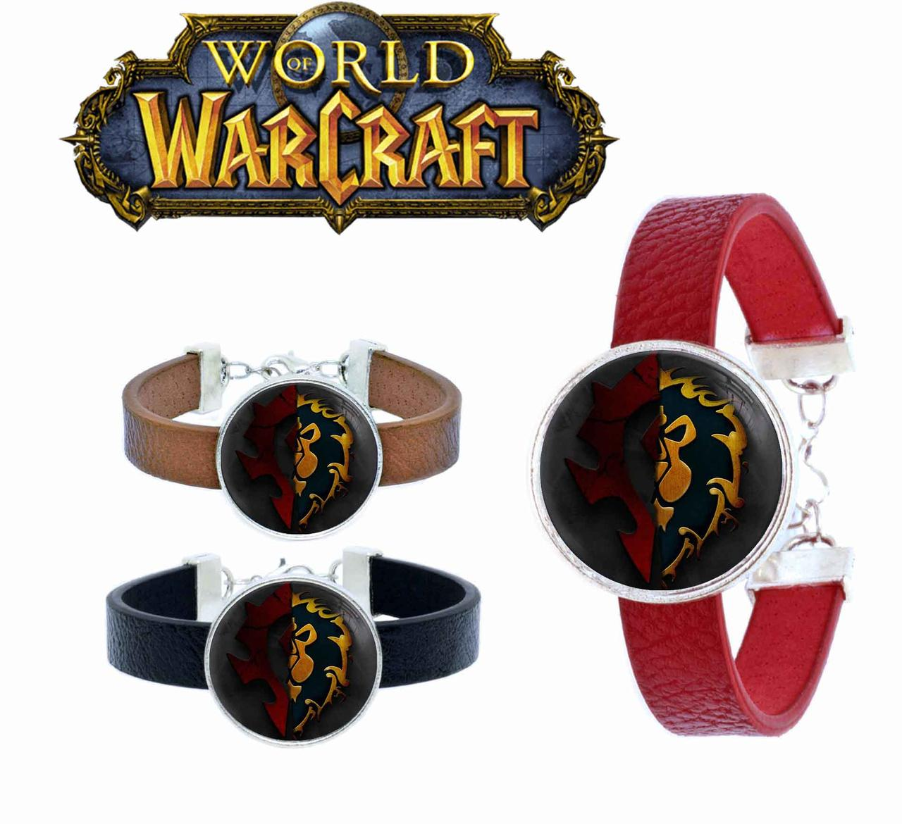 Браслет Horde and Alliance Варкрафт / World of Warcraft