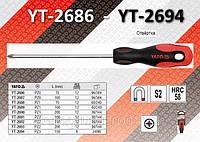 Отвертка крестовая PZ2 x 100 мм., YATO YT-2691