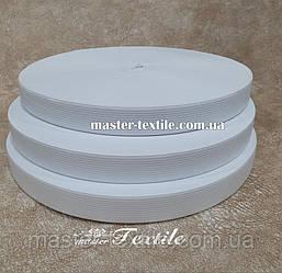 Резинка эластичная, 15 мм, 40 метров, белая