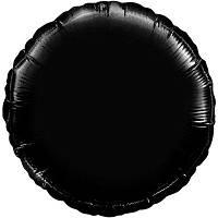 """18"""" (45 см) Коло пастель чорний Flexmetal Іспанія куля фольгований"""
