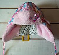 Зимняя шапка  для девочки р 40- 42-44, фото 1