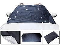 Зимний защитный чехол на лобовое стекло материал флизелин 0.75х1.5 (PTR)