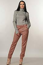 Женская теплый трикотажный гольф под горло (Бэйс-зима ri), фото 3
