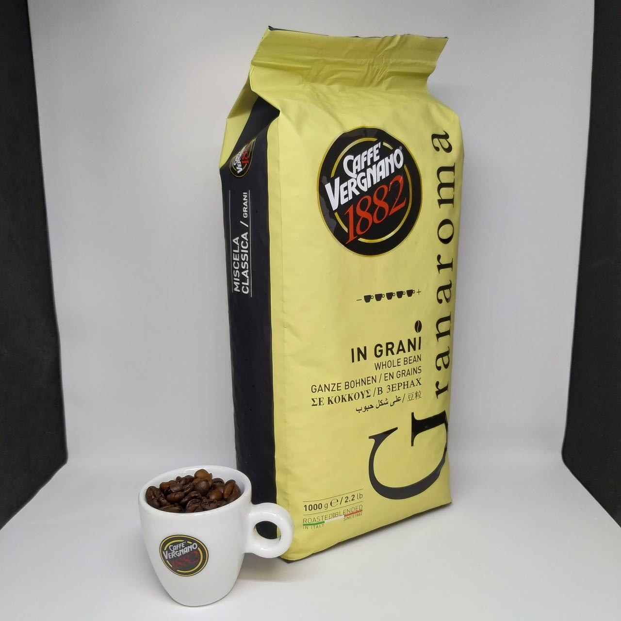 Caffe Vergnano 1882 Gran Aroma - Кофе в зернах