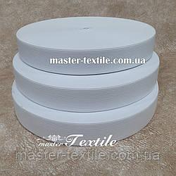 Резинка эластичная, 20 мм, 40 метров, белая