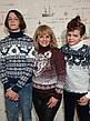 Молодёжный вязаный свитер с оленями размеры M,L,XL,XXL, фото 4