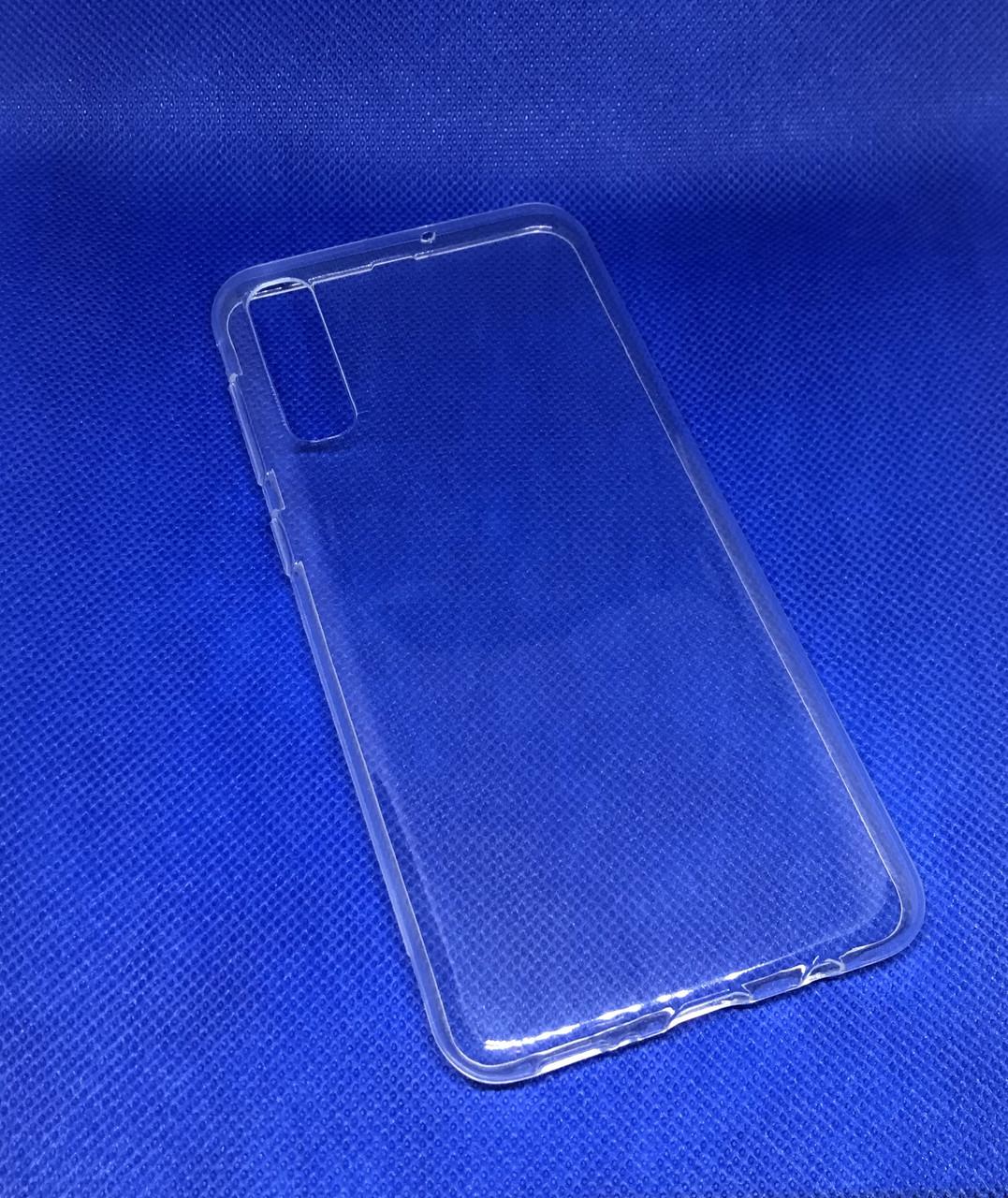 Samsung Galaxy A50 2019 (A505F) прозрачный силиконовый ультратонкий чехол/ бампер/ накладка
