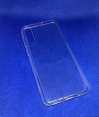 Чехол силиконовый для Samsung Galaxy A30S 2019 (A307F) ультратонкий прозрачный