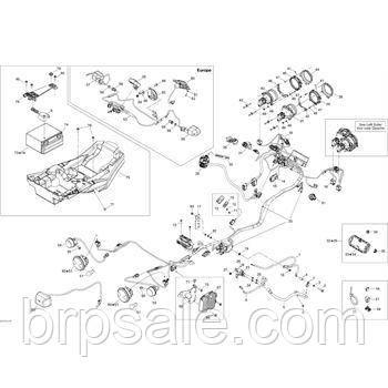 Фланцевий гвинт M6x70 Can-Am BRP Screw flange M6x70