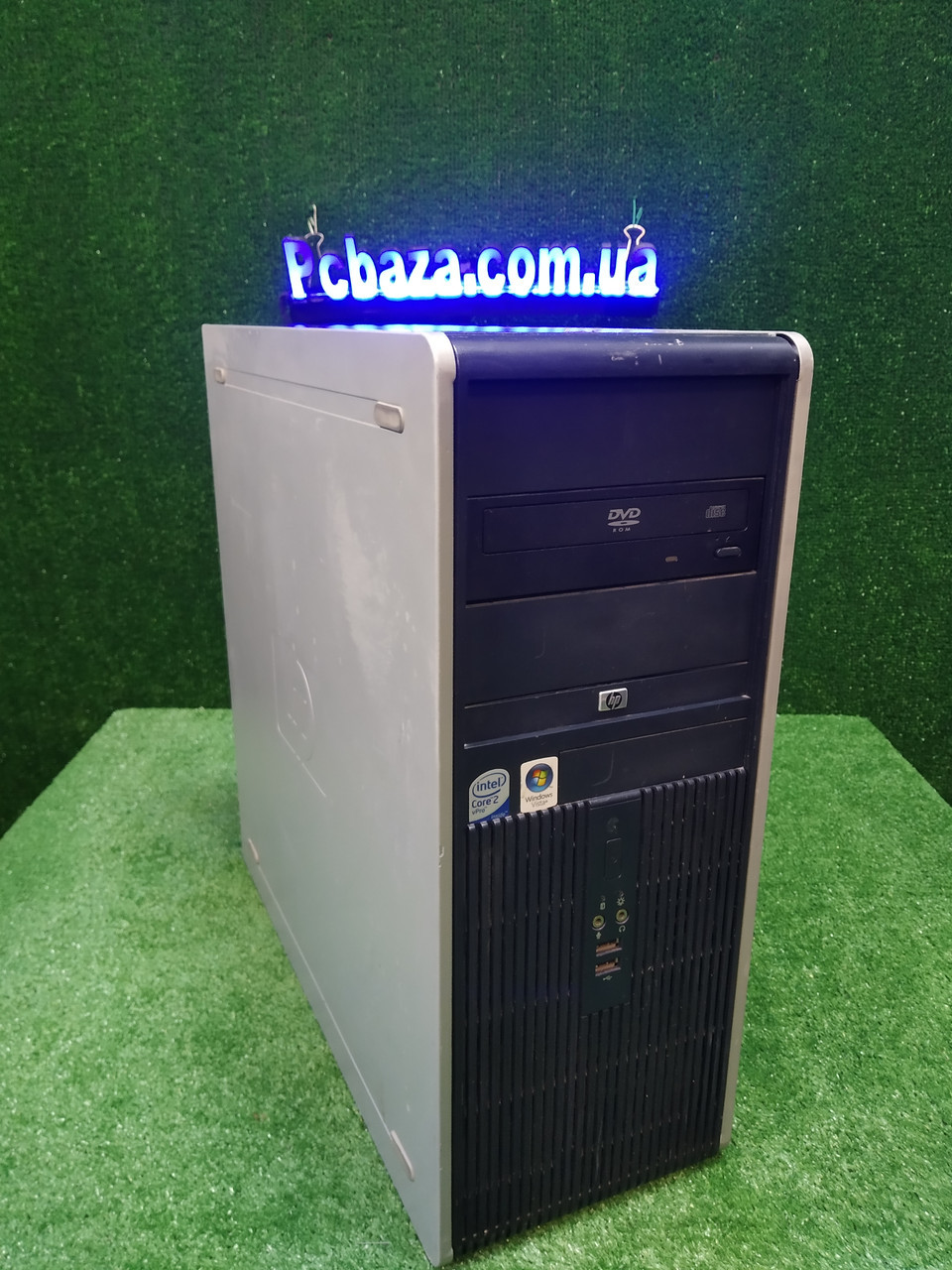 Компьютер HP dc 7800, Intel 2 мощных ядра E7500 2.93Ггц, 4 ГБ, 160 ГБ Настроен! Есть Опт! Гарантия!