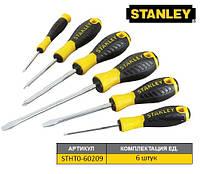 """Набір викруток STANLEY """"Essential"""" : (PH1,2/SL4, 5.5, 6.5, 8) [6 Шт.]"""