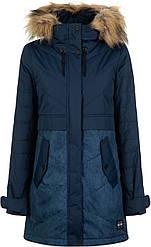 Женская утеплённая куртка Termit удлинённая защита от ветра и промокания