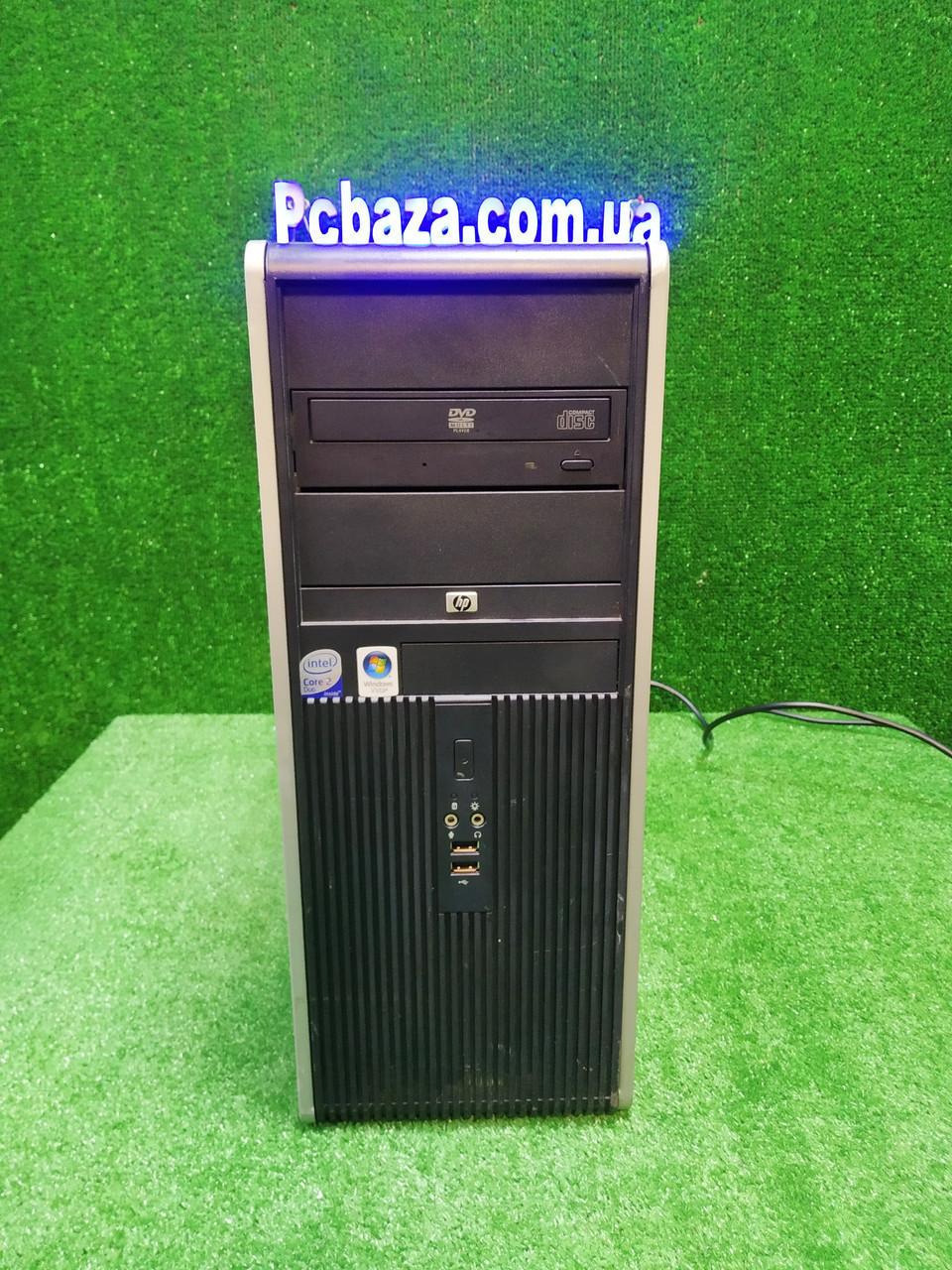 Компьютер HP dc 7800, Intel 2 мощных ядра E7500 2.93Ггц, 4 ГБ, 500 ГБ Настроен! Есть Опт! Гарантия!