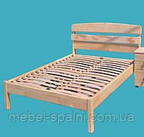 """Кровать в Украине деревянная односпальная """"Александра"""" kr.al1.1"""
