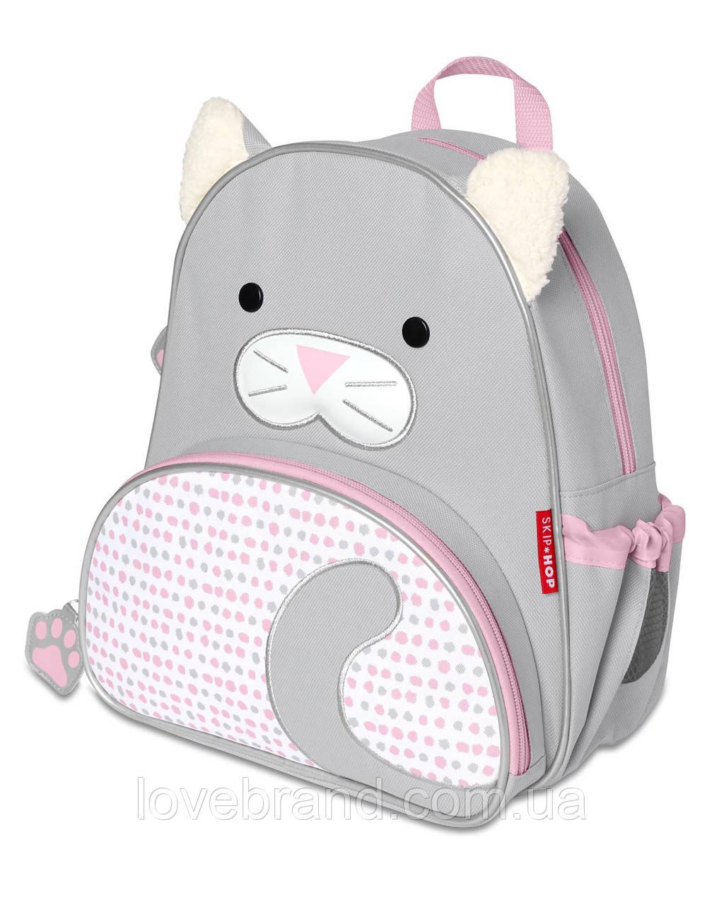 """Рюкзак SkipHop """"Котёнок""""  для девочки , рюкзачок детский Скип Хоп с ушками"""
