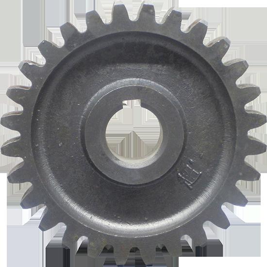 Шестерня промежуточная нижняя (под шпонку) Z28 зуб, D150 мм, d 32 мм 1GQN-125/140 ДТЗ ЗАРЯ