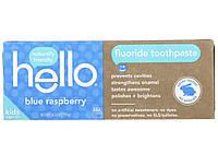 Зубная паста Hello blue raspberry, 119 мл, фото 1