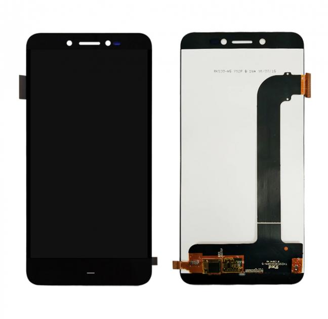 Дисплей (LCD) Prestigio 5530 Grace Z5 Duo сенсором чёрный