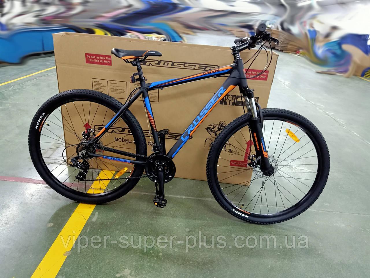 """Горный велосипед Crosser Grim 29""""/21 Шимано Система Алюминий Сплав"""