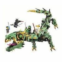 """Конструктор """"NJ"""" 10718 (18) Механический дракон Ллойда, 573 деталей, в коробке, фото 1"""