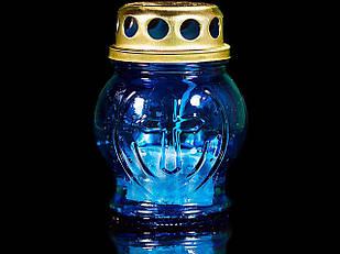 Лампадка стекло малое, 9*7см., 28шт/уп.