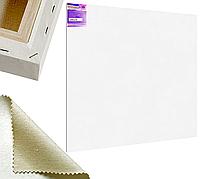 Холст на подрамнике Factura Gallery3D 200х250 см Украинский хлопок 320 гр.кв.м. мелкое зерно белый