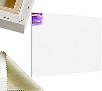 Холст на подрамнике Factura Gallery3D 200х300 см Украинский хлопок 320 гр.кв.м. мелкое зерно белый