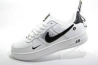 Белые кроссовки унисекс в стиле Nike Air Force 1 '07 Lv8 Utility, White