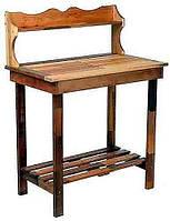 Декоративный деревянный стол для работы в саду - (Decorative Table - 03)