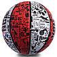 М'яч баскетбольний гумовий №7 SPALDIN 83574Z NBA GRAFFITI, фото 2