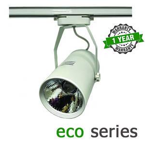 Трековый LED светильник 20W 4000-4500K/6000-6500K серия ЕСО