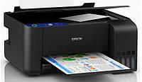 БФП Epson EcoTank L3111 3в1 принтер, сканер, копір