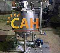 Реактор для производства КАС (карбамидно - аммиачных смесей) 200л