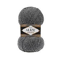 Пряжа для вязания ALIZE LANAGOLD,цвет DUE601,51% Акрил, 49% Шерсть