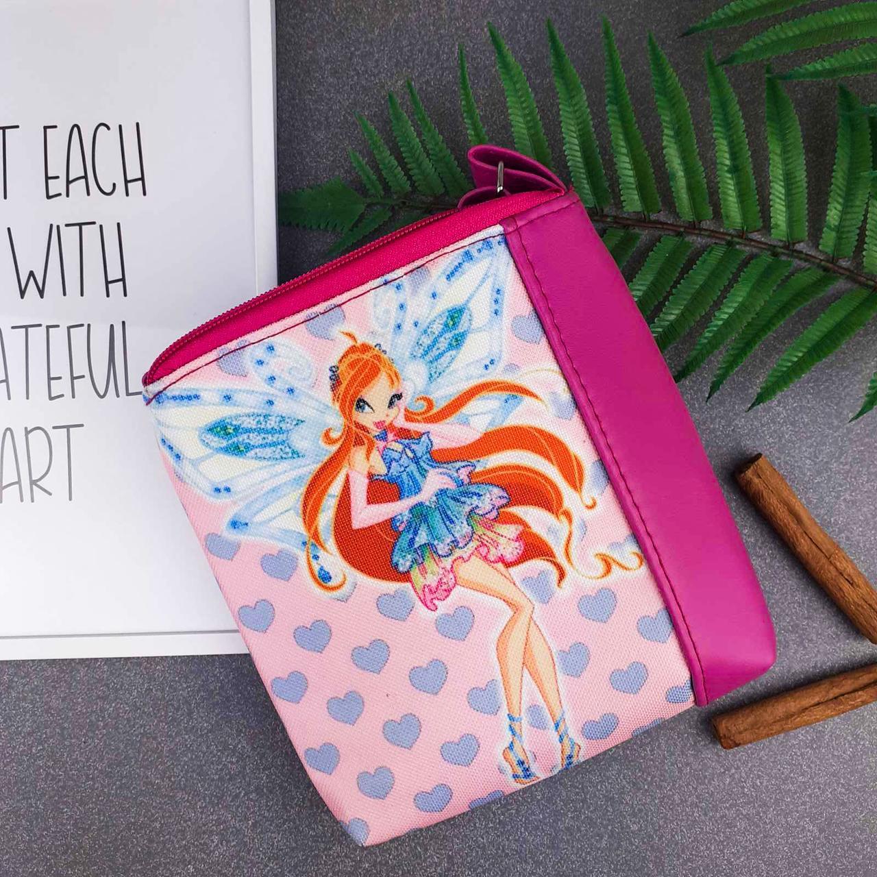 Сумка Moderika Mini Miss розовая с рисунком Винкс Блум  (55206)