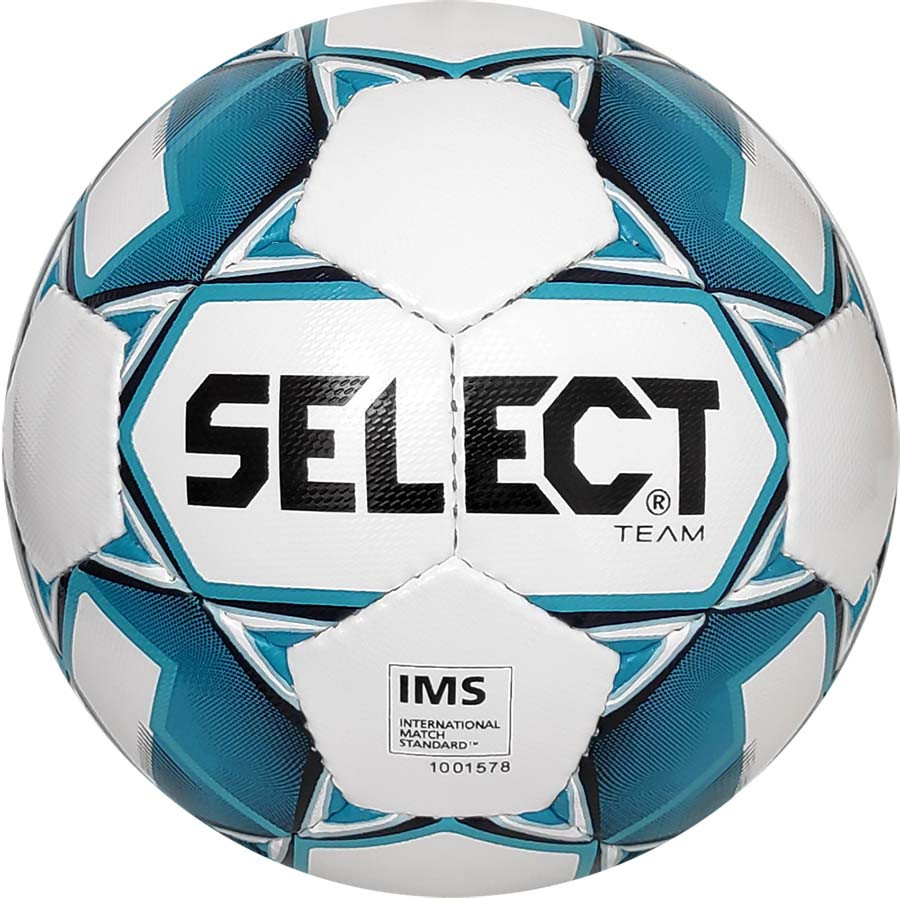 М'яч футбольний SELECT Team IMS (014) біло/голубий р. 5