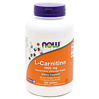 Л-карнитин NOW Foods L-Carnitine (1000 мг) (100 таб)