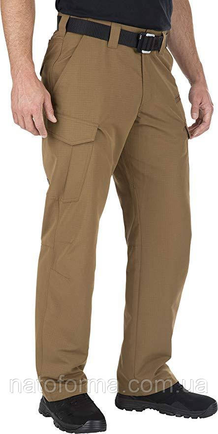 Тактические брюки 5.11 Fast-Tac Cargo Pant,Battle Brown