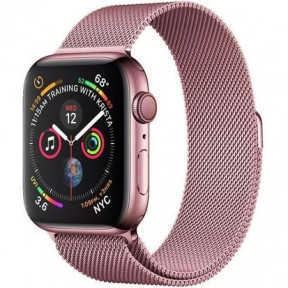 Ремешок для смарт-часов Apple Watch 4244mm Milanese Loop Band Rose