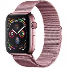 Ремешок для смарт-часов Apple Watch 4244mm Milanese Loop Band Rose, фото 2