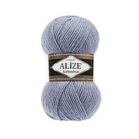 Пряжа для вязания ALIZE LANAGOLD,цвет 221,51% Акрил, 49% Шерсть