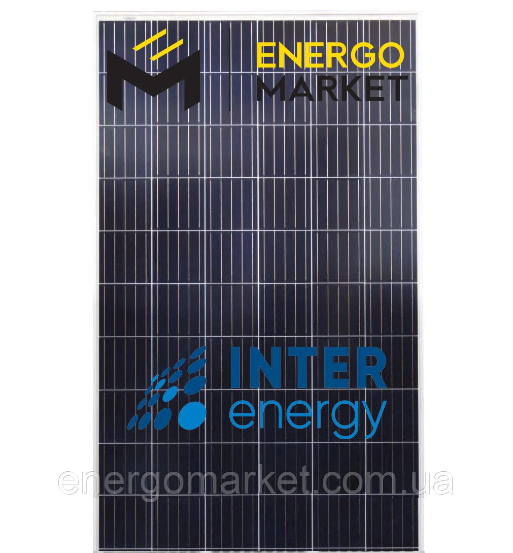 Поликристаллическая солнечная панель InterEnergy IE-P60-290W (290 Вт, 5BB)
