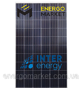 Поликристаллическая солнечная панель InterEnergy IE-P60-290W (290 Вт, 5BB)
